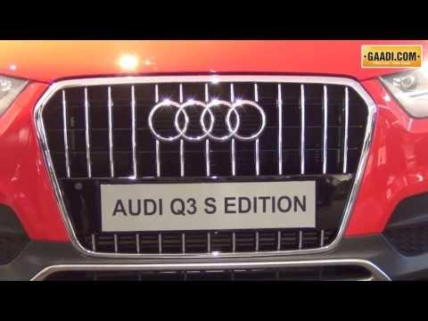 Audi Q3 s Launch in India : Turbo 54