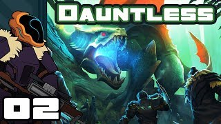 Let's Play Dauntless [Alpha] - PC Gameplay Part 2 - The Training Wheels Are Off!