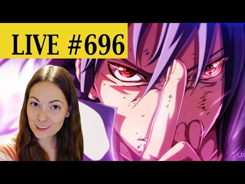 LIVE REACTION: NARUTO chapter 696!!! - THE BATTLE INTENSIFIES!!!