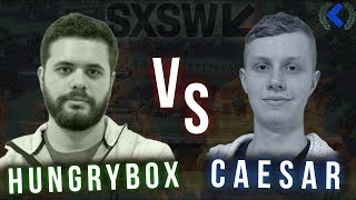 BEST MELEE PLAYER VS HIS EDITOR IN SSB ULTIMATE | Hungrybox vs Caesar at SXSW Gaming 2019 Highlights