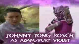power rangers fist fury fan made opening