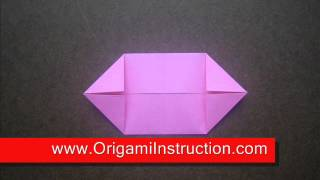 How To Fold Origami Pig Base - Origamiinstruction.com