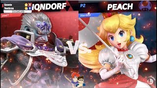 Yeeticus (Ganondorf) vs Koveto (Peach) - Pools | Archanea Saga