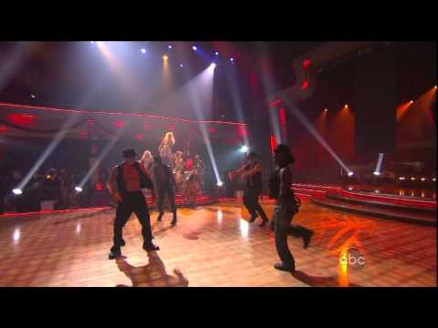 Christina Aguilera - Show Me How You Burlesque HD live on Dancing with the Stars