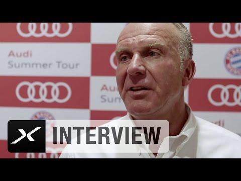 """Karl-Heinz Rummenigge: """"Es ist wichtig, uns zu präsentieren""""   FC Bayern München"""