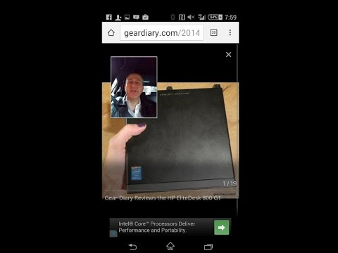 SCREEN AND SELFIE CAPTURE DEMO With Sony Xperia Z3 Compact