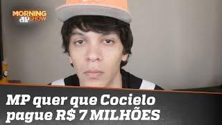 MP quer que Cocielo pague 7 MILHÕES de reais por tweet sobre Mbappé