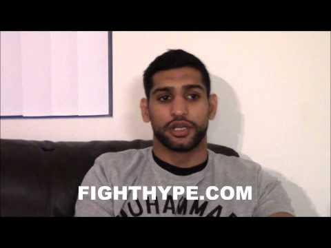 AMIR KHAN EXCLUSIVE PART 3: LAMONT PETERSON, DANNY GARCIA, AND THE WORST MISTAKE HE EVER MADE
