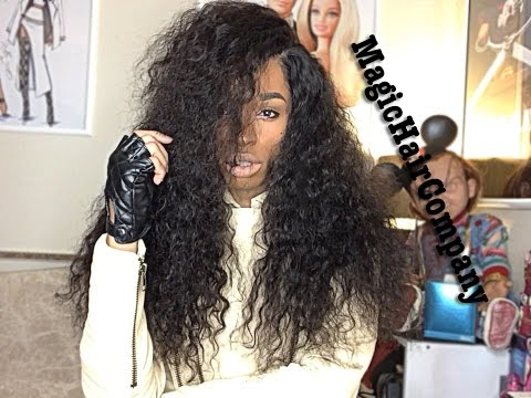 MagicHairCompany Lace U-Part Tutorial / Initial Review   20