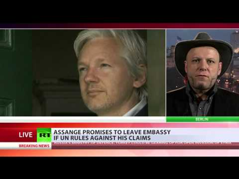 Arrest on sight?  Bruno Kramm on Julian Assange's possible fate