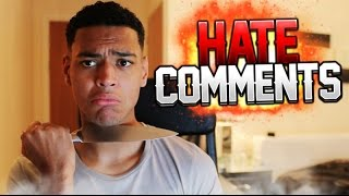 READING MEAN HATE COMMENTS!!