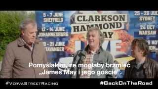Clarkson, Hammond and May Live podczas VERVA Street Racing 2015
