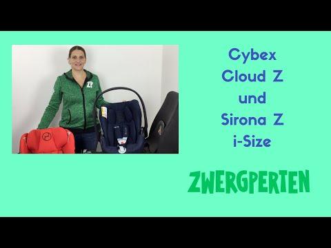 Cybex Cloud Z und Sirona Z - das Modularsystem