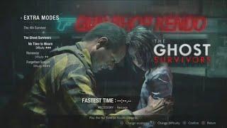 RESIDENT EVIL 2 REMAKE. Gunshop Owner-No Time to Mourn. The Ghost Survivor's DLC. ( PS4 PRO )