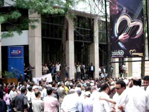 Manifestation Maroc Telecom 26/05/2011