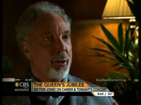 Sir Tom Jones Interviewed On CBS This Morning • June 4, 2012