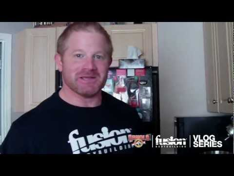 BARRY ANTONIOW VLOG SERIES EPISODE #2: 5 WEEKS OUT FROM THE 2012 ARNOLD CLASSIC