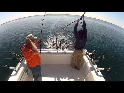 Salmon Fishing lake Michigan may 2012 006.MP4
