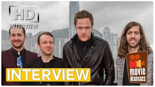 Imagine Dragons EXCLUSIVE interview Battle Cry - Transformers Age of Extinction (2014)