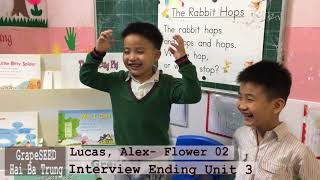 Lucas, Alex -LF02- Ending Unit 03 GrapeSEED Interview