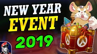 Overwatch LUNAR NEW YEAR 2019 (Start Date, Leaks, New Skins, & Speculations!)