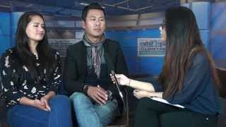 Download Singer Raju Gurung & Actress  Ranjita Gurung in Everest Channel 3Gp Mp4