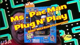 2017 MSI Entertainment MS  Pac Man Plug N' Play