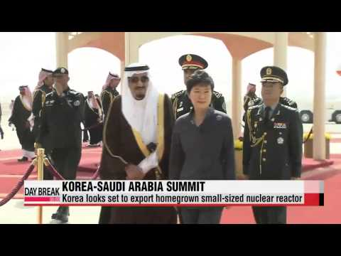 Korea set to export homegrown reactor to Saudi Arabia   한-사우디 정상회담: 국내 원자로, 창조경제
