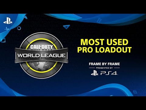 Call of Duty World League – Most Used Pro Loadout | PS4