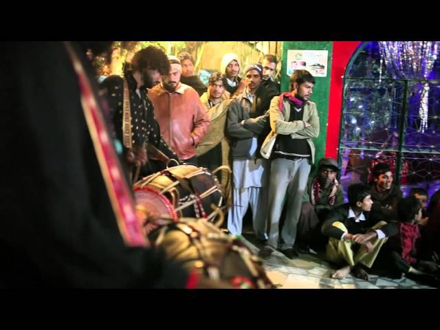 Dhamal in Shah Jamal : Sufi whirling