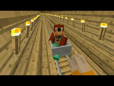 Minecraft Xbox Tree Train 122