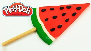DIY How to Make Play Doh Watermelon | Animals for Kids | Play Doh Animal  Elephant Lion Giraffe