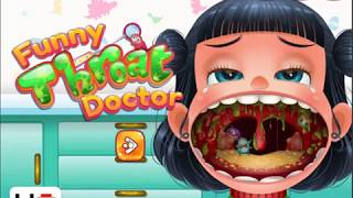 Baby Hazel Games - Funny Throat Doctor