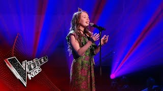 Gracie-Jayne Performs 'Golden Slumbers' | Blind Auditions | The Voice Kids UK 2019