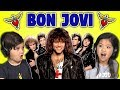 Lagu KIDS REACT TO BON JOVI