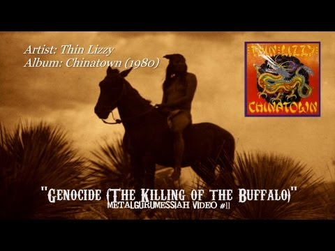 Thin Lizzy - Genocide (The Killing of the Buffalo) (1980) [720p HD]