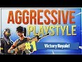 HOW TO WIN | Play Aggressive and Smart - Guide and Tips (Fortnite Battle Royale) mp3