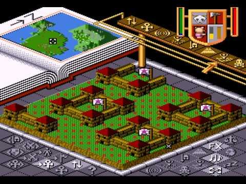 Populous - Swine of Darkness (SNES) - Vizzed.com GamePlay - User video
