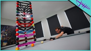 POOL TRICK SHOTS & WORLD RECORDS! Ft. Venom Trickshots