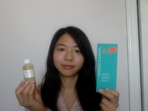 Moroccanoil Treatment vs. 100% Argan Oil