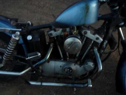 1973 xlch iron shovelhead harley davidson sportster 1000cc Video