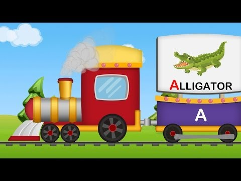 A To Z Animals Train | Animals Sounds | A-z Animals video