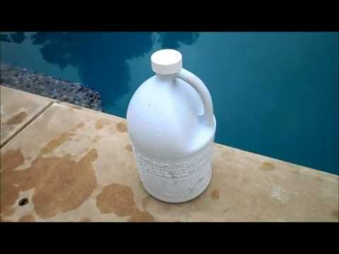 Liquid Chlorine Pool Sanitizer