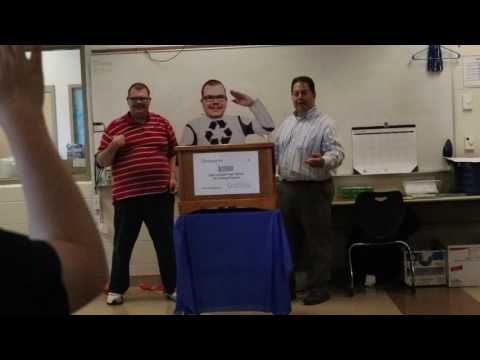 WTI Recycling video contribute to Ricky, and the Job Training program