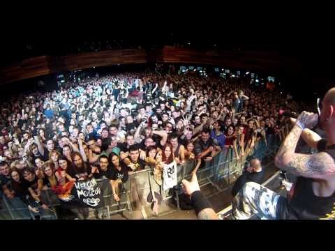 Five Finger Death Punch live in Moscow , White Knuckles , 08.12.13