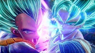 JUMP FORCE - SSB Vegeta, SSB Goku, Golden Frieza HD Screenshots +Ultimate Awakenings Trailer (1080p)