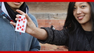 Magic Or Deception - Pick Any Card | Nepal Brotherhood of Magicians | Street Magic in Nepal