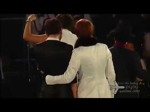 081115 Mkmf Fancam Dbsk Best Album Of The Year + Ending video