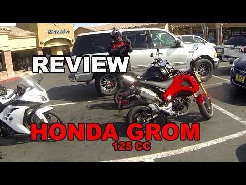 Honda Grom Ride And Review