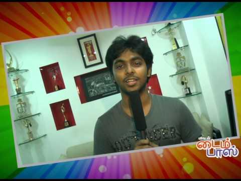 GV Prakash...